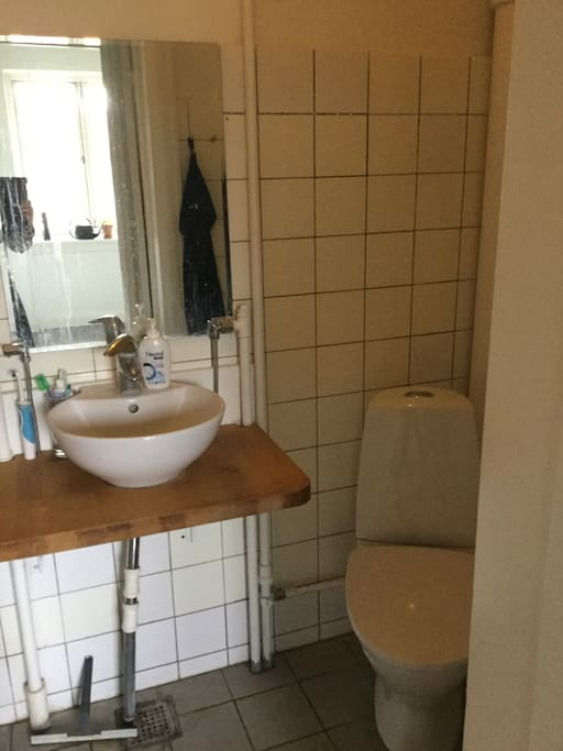 Toilet and bath