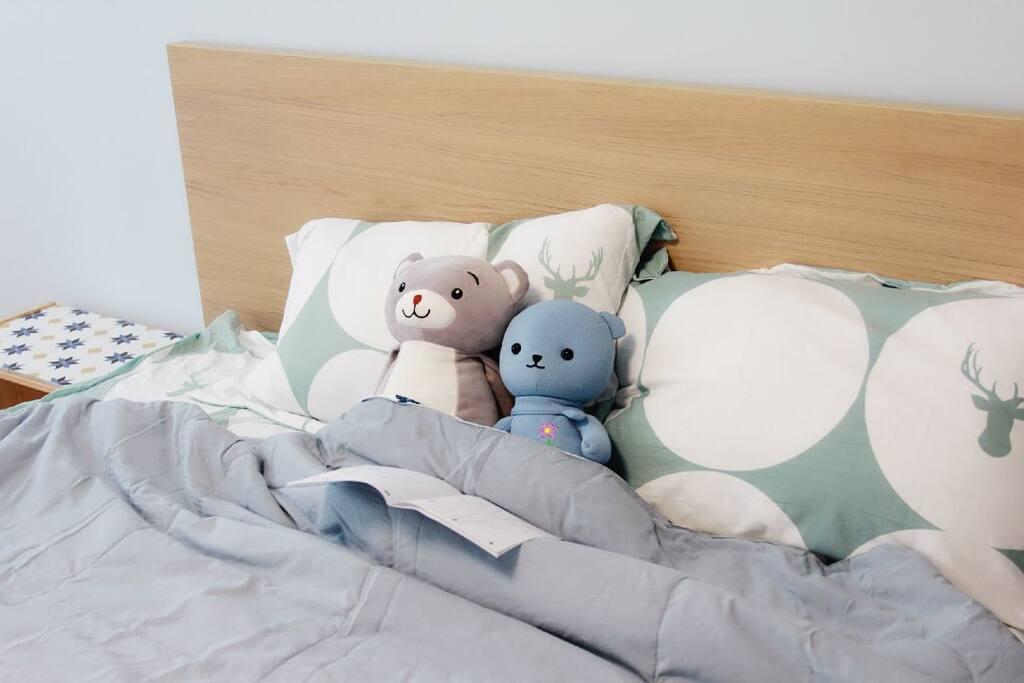 1.8米大床,可睡2人