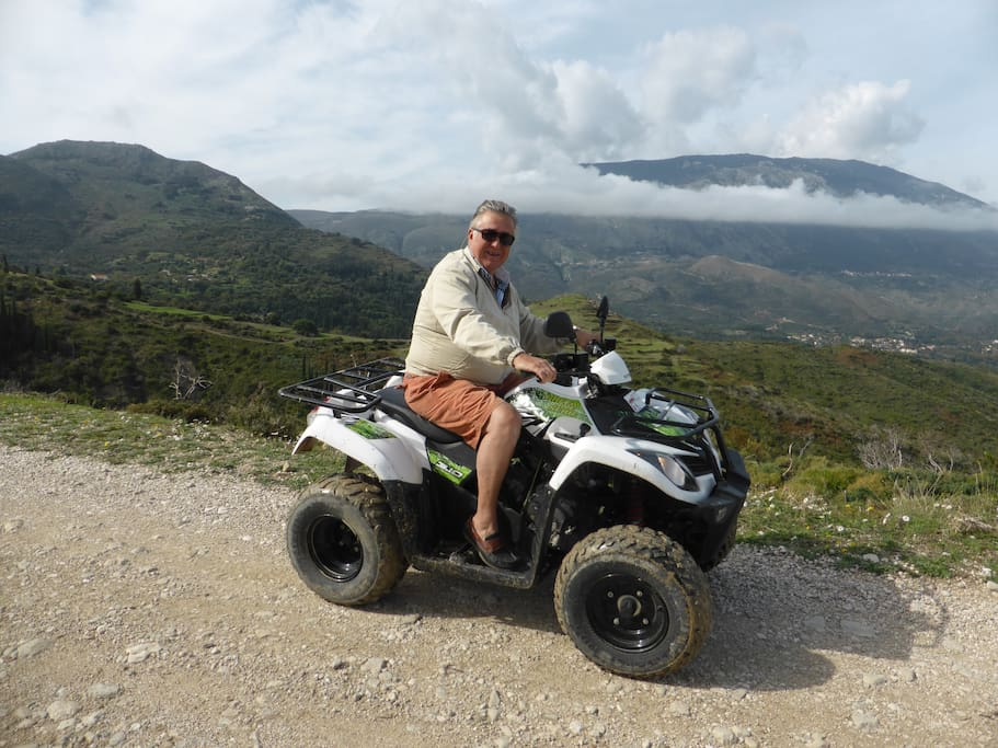 Miles of great quad bike trails straight from the doorstep