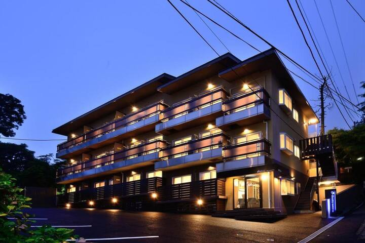 Spend time at Hakone, spacious room with Kitchen + Dining Room【1ルーム】