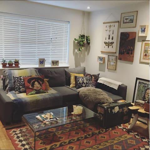 Cozy eco friendly little flat in Brockley - London