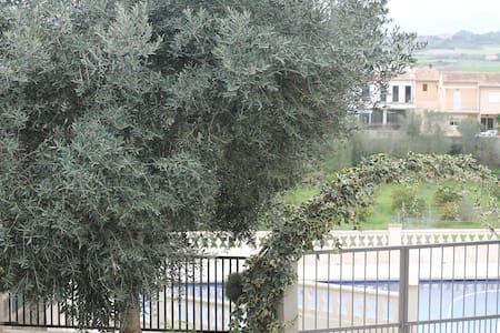 Encantadora casa rústica mallorquina con vistas - Maria de la Salut - Maison