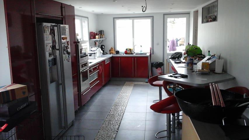 Maison tout confort avec pelouse 1000m2 - Divion - Dům