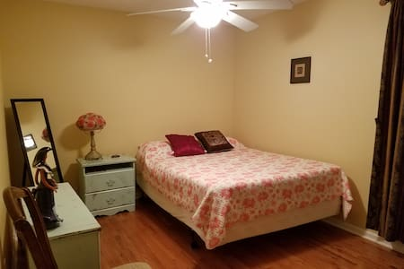 Private room with bathroom and gym. - Nashville