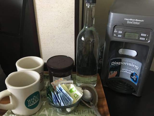 Coffee in your room!