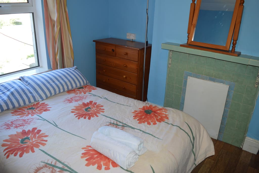 Double bed is perfect to relax in after a long day sight seeing
