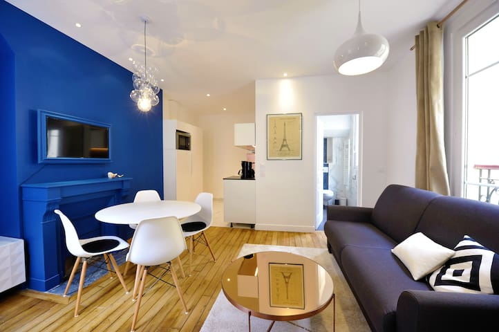 Stylish Architect Designed 1-bedroom Apt in Marais