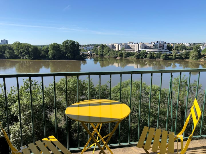 Appartement vue sur Loire - protocole sanitaire