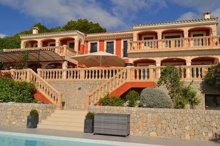 Luxury villa overlooking Puerto Portals/Mallorca - Costa d'en Blanes