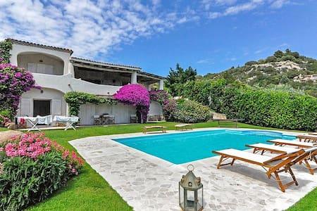 Mediterranean Sea View Villa fo 12 Guests - Abbiadori - Villa