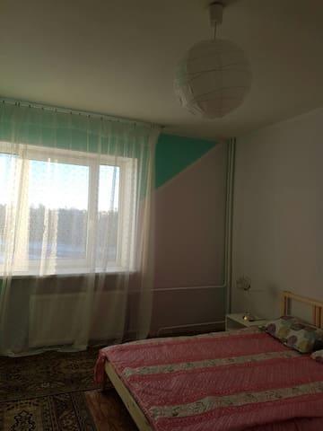 Уютная квартира рядом с вокзалом - Pushkin - Leilighet