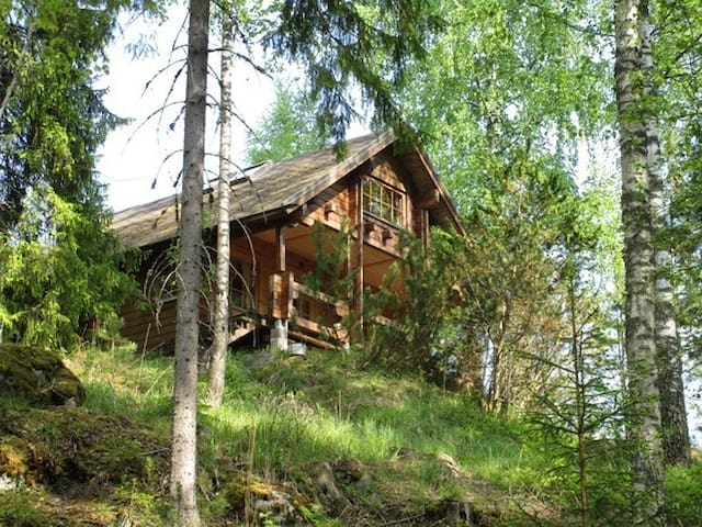 Cozy cottage in private forest (Golf / Hiking) ! - Nokia - Cabin