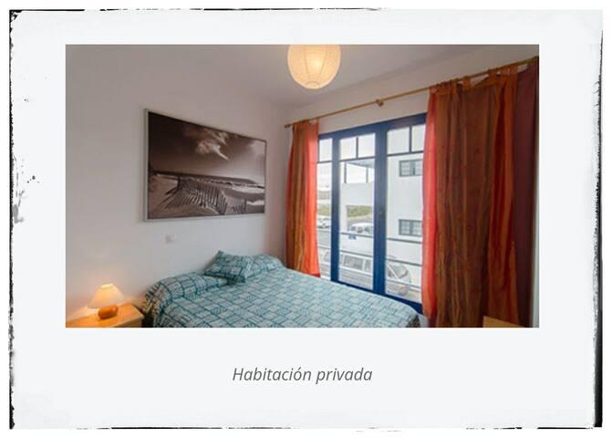 Habitación privada en surf house
