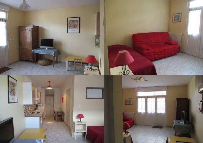 Studio en rez de chaussée - Berck - Huis