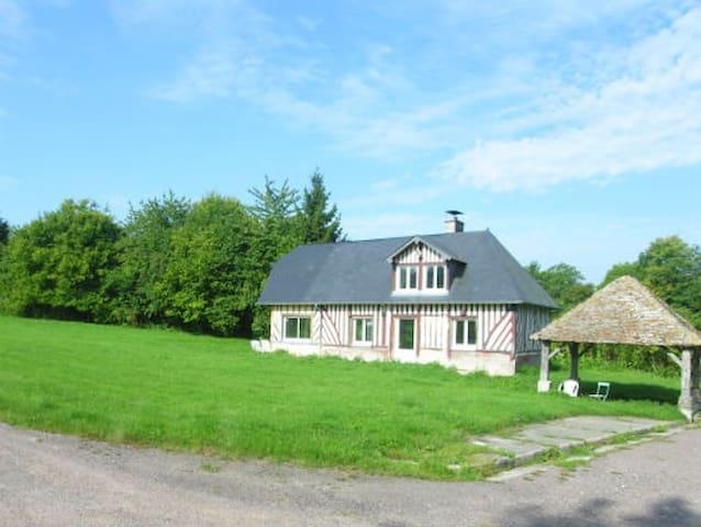 Maison dans une ferme cidricole à 1.5 km de la mer - Blonville-sur-Mer - Feriehus