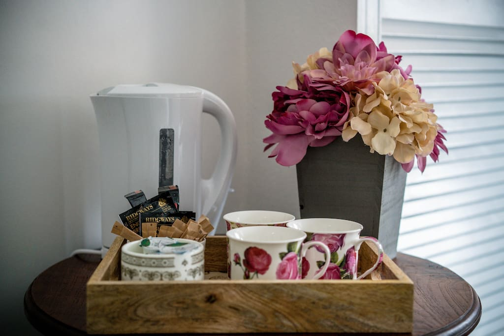 Tea & Coffee making facilities are placed in your room.
