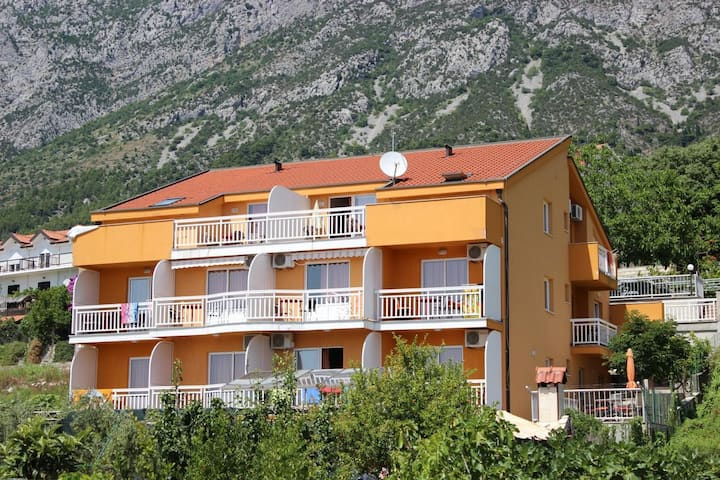 Two bedroom apartment with air-conditioning Gradac, Makarska (A-13681-b)