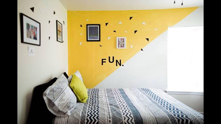 Sunrise Room in the Austin, tx Artbnb
