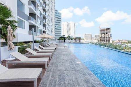 Great location Cancun Malecon Las Americas - Cancún - Apartemen