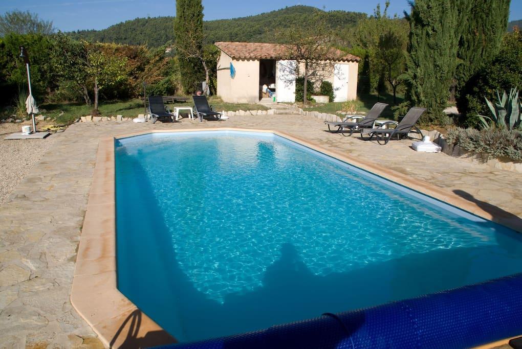 Pool: 11x4 meters