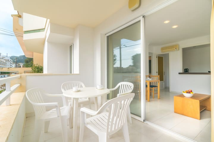 MASSANET (BB) -Cosy apartment with terrace near the sandy beach.