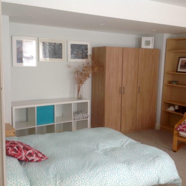 Very spacious double room on ground floor.