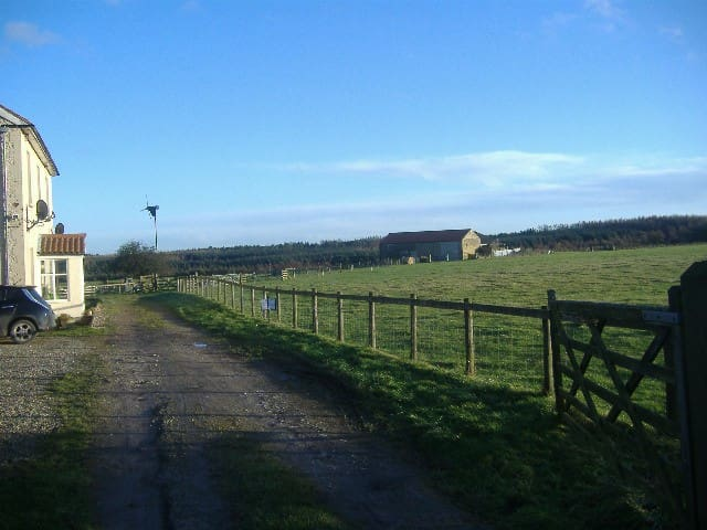 Camping barn Dalby Forest.