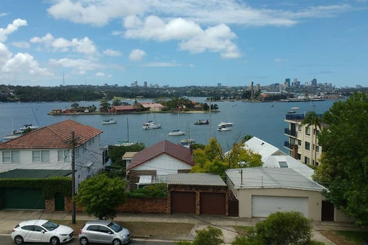Harbour Bridge Water views from your room! - Drummoyne - Appartement