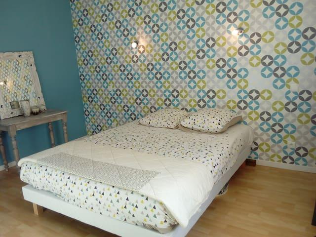 Chambre entre Cèze et Ardèche - Cornillon - Ház