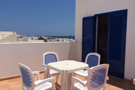 AURA duplex con terraza privada vista mar. - Caleta del Sebo - 公寓