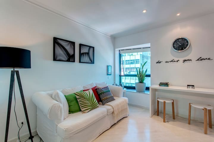 Sunny and inspiring apartment in Jardim Paulista