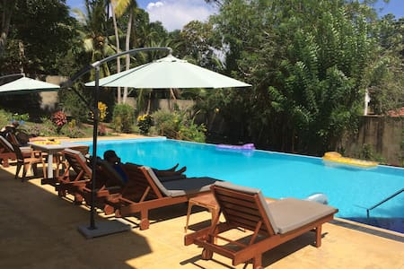Jungle oasis with pool and garden - Hikkaduwa - Bed & Breakfast