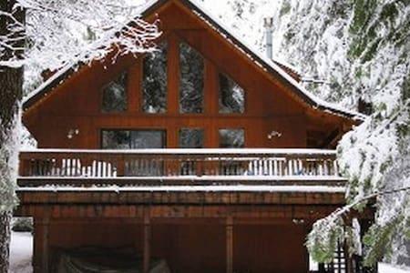 Gorgeous Sierra Ski Chalet w/ greatroom! - Arnold - Kabin