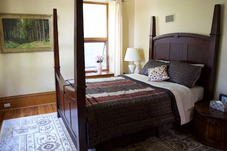 Bella's Castle B&B Deluxe Square Suite - Morden - Castillo