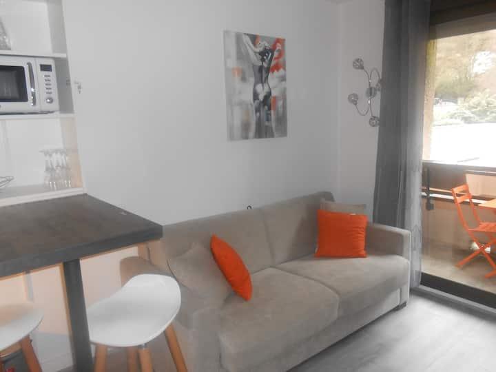 Studio 2p coeur de luchon, Wifi, Soda