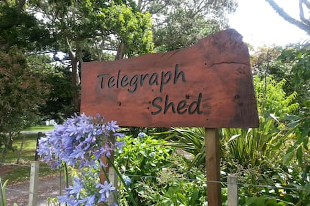 Telegraph Shed Waimate North. No extra fees