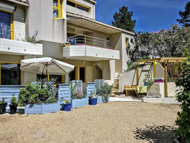Tooting Plage at the Yellow House - La Tranche-sur-Mer - Apartamento