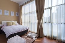 Second bed room, queen size (160x200cm) with AC
