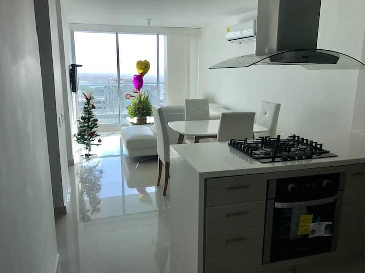Apartamento Barranquilla cc Buenavista / Miramar