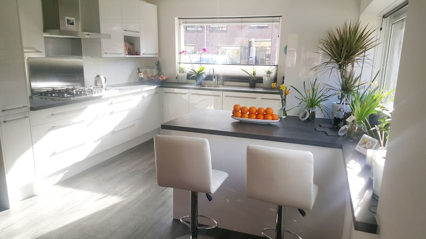 2 big double rooms with free Wi-Fi & free parking - Duivendrecht - Huis