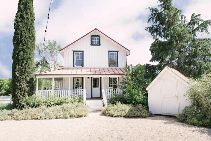 The Los Olivos Hartley House