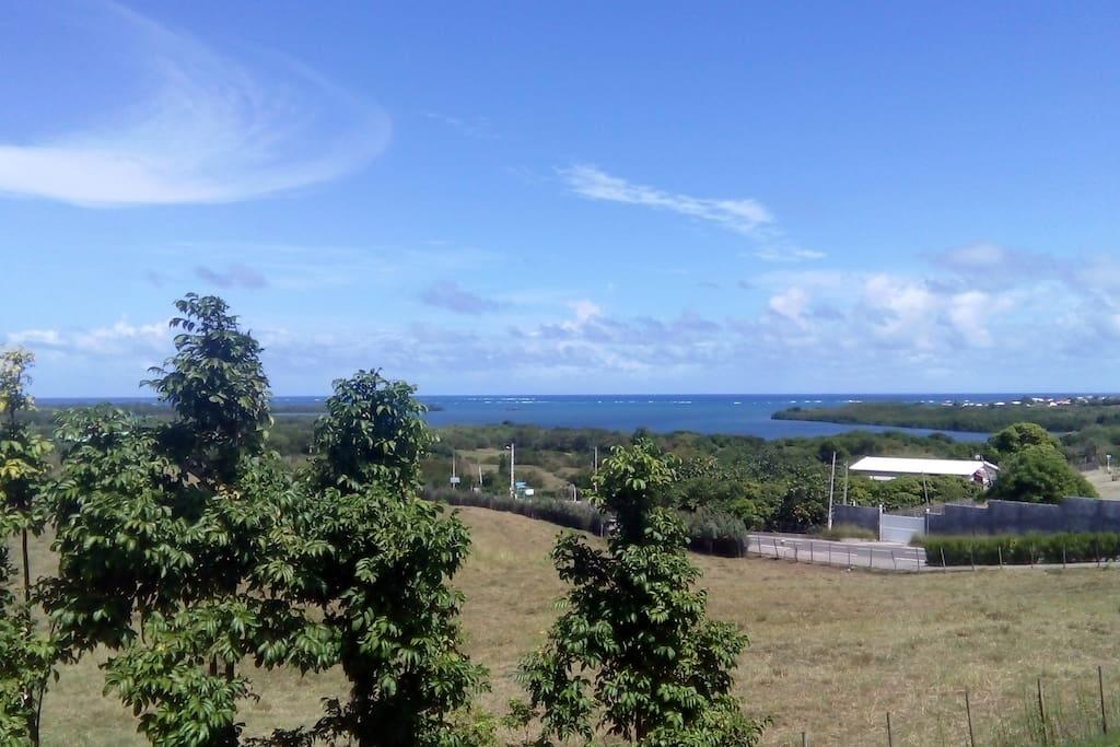 Une vue imprenable sur la Mer du Vauclin