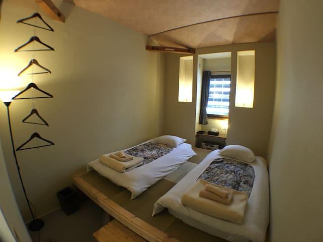 Chianti Chalet/private room/free shuttle @tsugaike