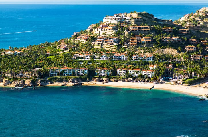 - Palmilla is the Grand Dame of Los Cabos.  Overlooking the most spectacular bay.     - Palmilla provides its residents and guests with Luxury, Elegance, Privacy, and Amenities that no other Cabo community offers.