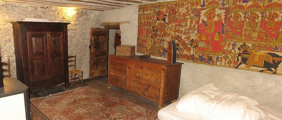 Grand appartement au coeur de St Véran Queyras - Saint-Véran - Leilighet