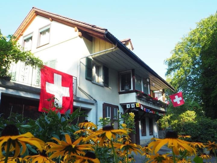 Cozy guest-house near Lake of Thun&City of Thun