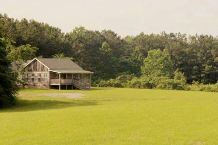 """Candlelight Cabin"" on 120 Acres of Farm & Forest"