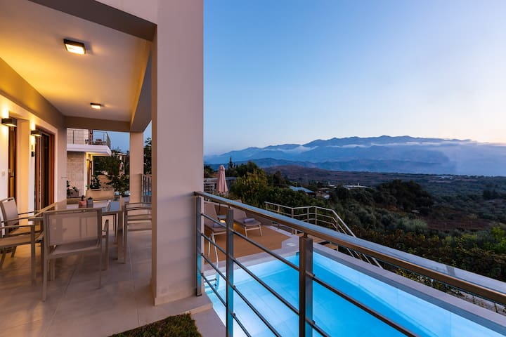 Brand new villa in a quiet location with serenity