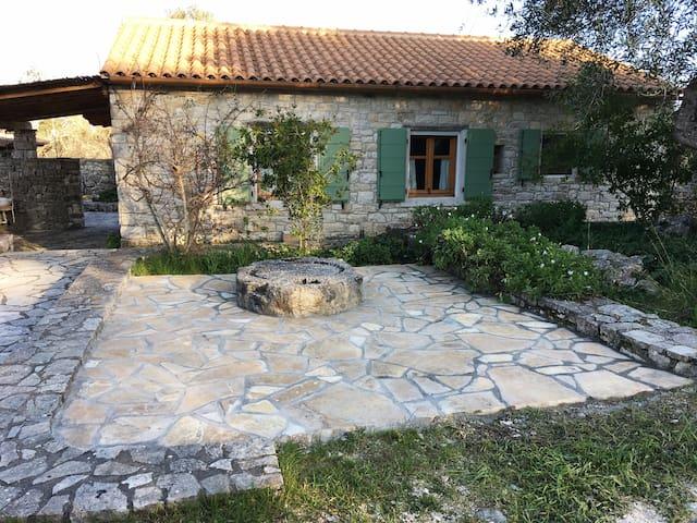 Traditional oil mill retreat, Paxos island