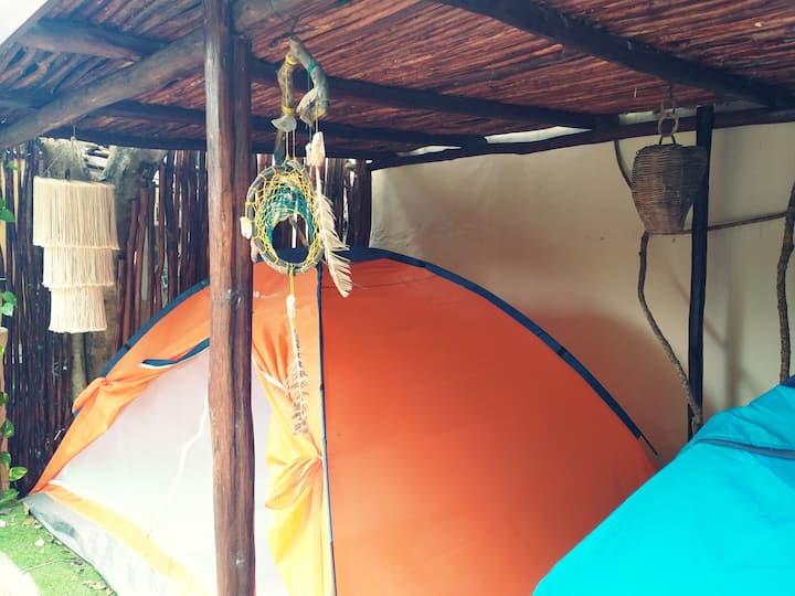 Tent TuboTulum Hostel